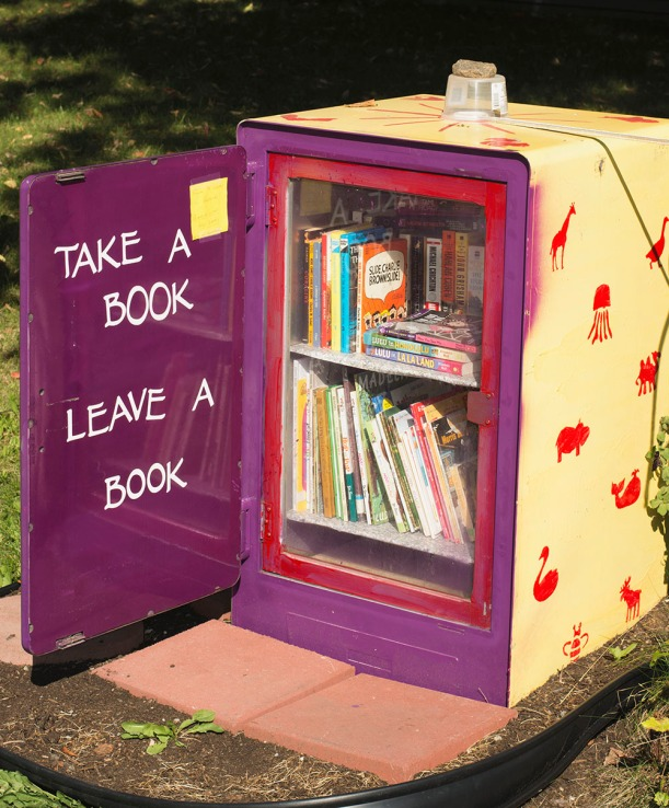 littlefreelibrary, free libraries