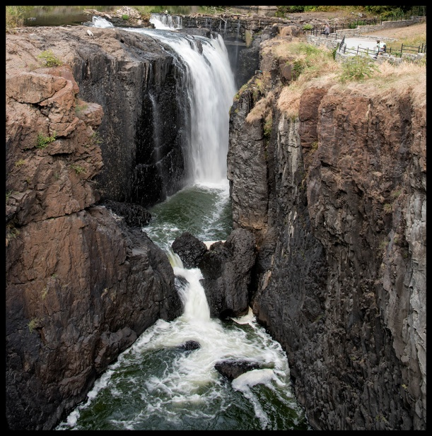 he Great Falls Passaic River, Paterson New Jersey, Historic National Park, Waterfall