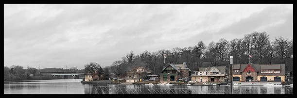 Schuylkill River,Boathouse Row, Philadelphia, Rowing
