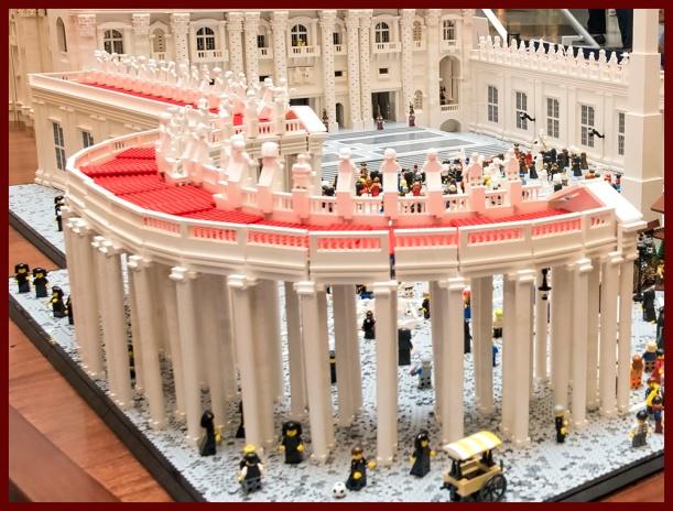 Lego Vatican Display, Franklin Museum, Philadelphia