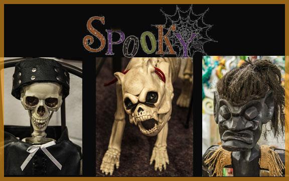 Halloween, spooky, Red Barn