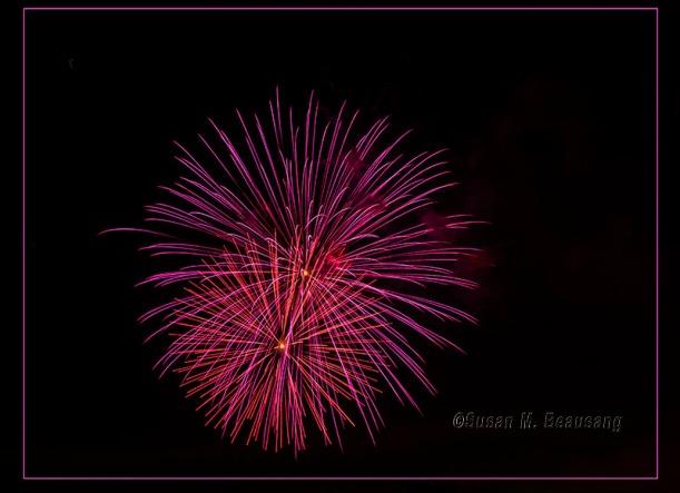 Siesta Key Beach FL Fireworks