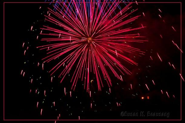 Siesta Key Beach FL, fireworks