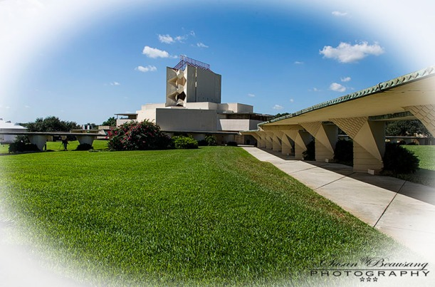 Florida Southern College, Frank Lloyd Wright, Architectural